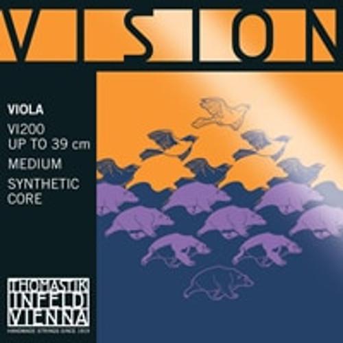 VI200 - Vision Viola Set- Chrome E & Silver A