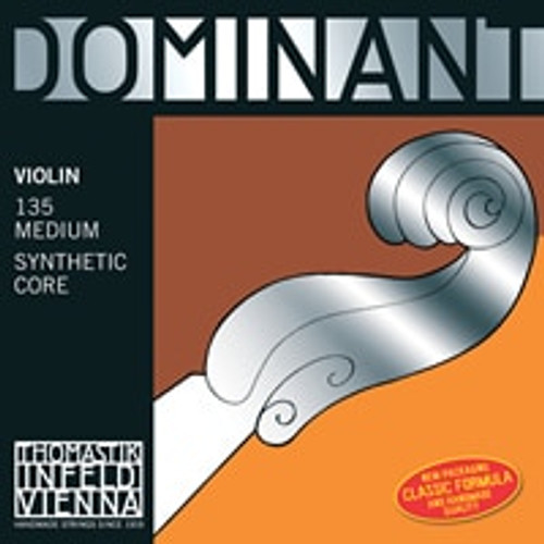 135 - Dominant Violin Set- Wound E, Ball