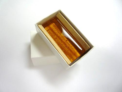 Woodblock Cardboard Cover Rosin Dark