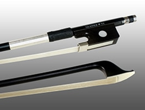 Glasser X-Series Cello Bow - Black Stick, Black Hair