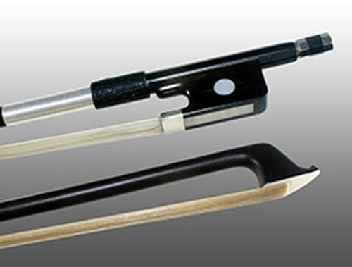 Glasser X-Series Viola Bow - Black Stick