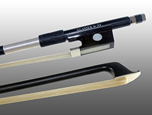 Glasser X-Series Violin Bow - Black Stick