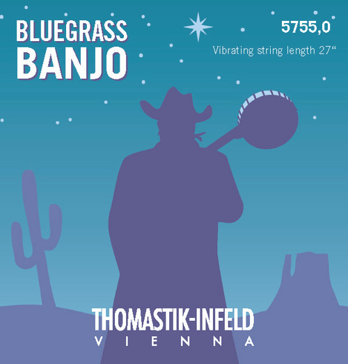 5755.0 - Thomastik Bluegrass 5-String Banjo Set