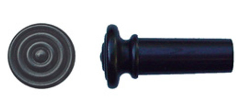 Tempel Violin Endbutton, Ebony