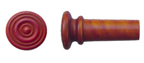 Tempel Violin Endbutton, Boxwood