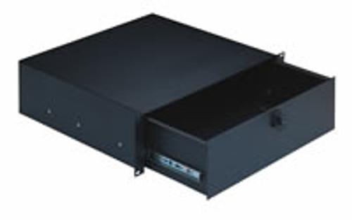 49123 Rackmount Storage -black