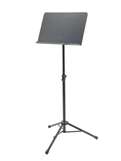 11960 Orchestra Music Stand with Collapsible Base, Solid Steel Desk