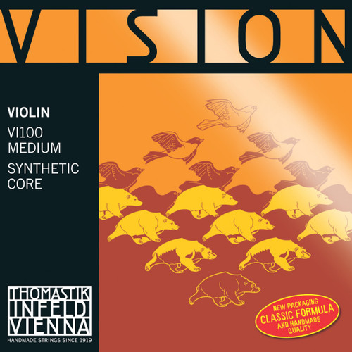 VI100 - Vision Violin Set- Carbon Steel, Tin-Plated E