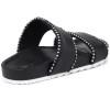 JSlides EMMIE Black Leather
