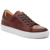 JSlides Mens DESMOND Tan Distress Leather