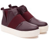 JSlides HOLLAND Burgundy Leather
