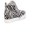 JSlides STUDDIE1 Zebra Pony Leather