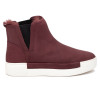 VAL Burgundy Waterproof Nubuck