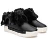 JSlides VICTORY Black Waterproof Leather