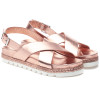 LEE Rose Gold Leather
