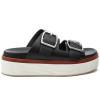 JSlides BOWIE Black Leather