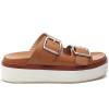 JSlides BOWIE Tan Leather