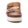 JSlides BOWIE Tan Leather