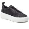JSlides COURTO Black Leather