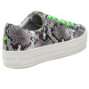 JSlides HIPPIE NEON Black White Embossed/Green