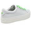 JSlides HIPPIE NEON White Leather/Green