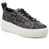 JSlides COURTO Black/Grey Leather