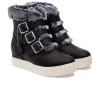 JSlides SPAT Black Leather