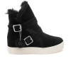 WELLS Black Waterproof Suede