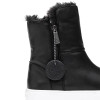 SELENE Black Waterproof Leather
