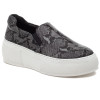 CLEO Black/Grey Embossed