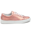 LACEE Rose Gold Metallic Leather