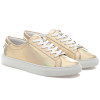 LACEE Gold Metallic Leather