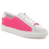 LACEE LASER Neon Pink Leather