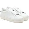 HILTON White Leather