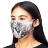 CARING MASK Brown Embossed