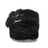 BROOKE Black Shearling