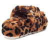 BROOKE Leopard Shearling