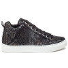 LUDLOW Black Metallic Multi Embossed Leather