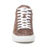 LUDLOW Chestnut Metallic Multi Embossed Leather