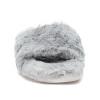 LOVLIE Light Grey Faux Fur
