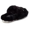 BABEE Black Faux Fur