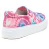 DUSTY Pink/Blue Multi Stretch Fabric