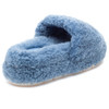 BRYCE Light Blue Curly Shearling