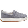 JUNIOR Light Grey Nubuck