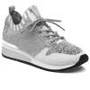 MADELINE White/Grey Knit