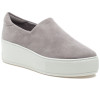 MERRIE Light Grey Stretch Leather
