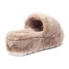 WILLOW Brown Faux Fur