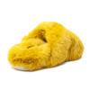 CHARLI Mustard Faux Fur