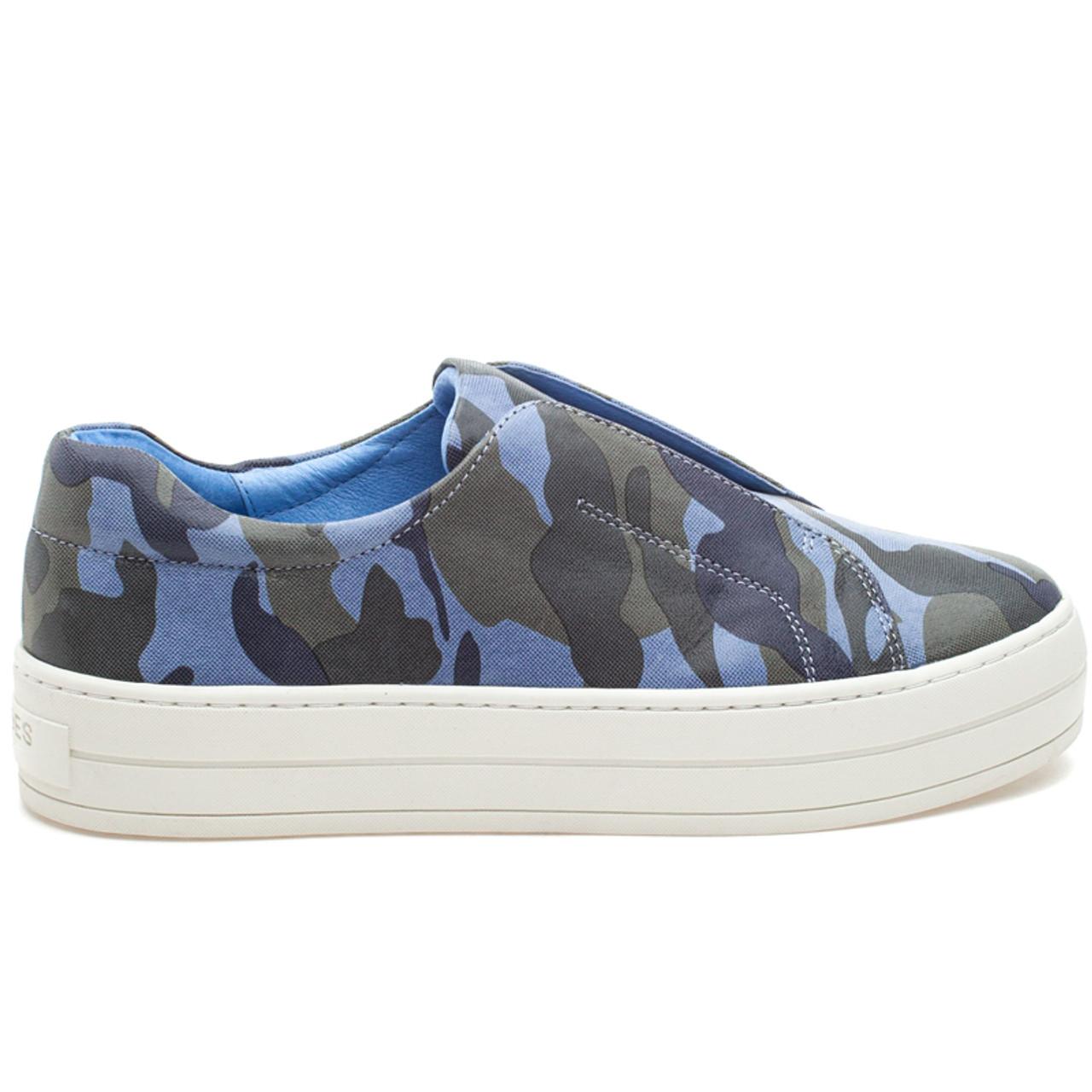 HEIDI Blue Camo Leather - JSlides