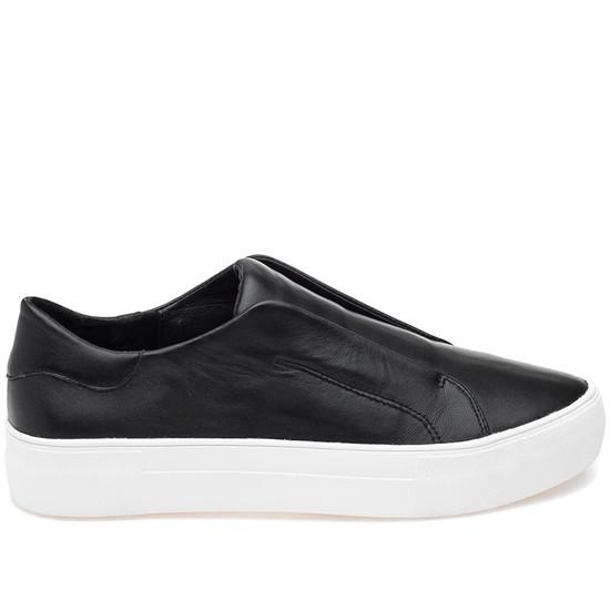 JSlides ALARA Black Leather